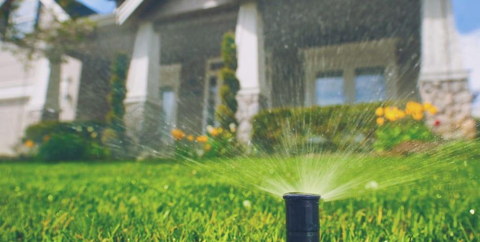 Plumbing in your garden